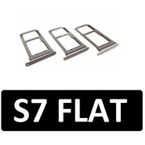 Bandeja Sim S7 Flat Micro Sd Charola Gris Oro Plata