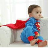 Superman. Enterizo / Ropa / Disfraces Para Bebes 0-12m