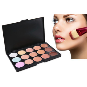 Paleta Corretiva E Base Maquiagem 15 Cores Para Bolsa