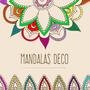 Mandalas Deco - Artesanias En Vidrio, Falso Vitro.