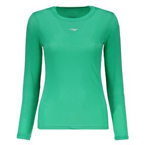 Camisa Térmica Penalty Limited Manga Longa Feminina Verde 72ca391131416
