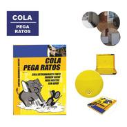 Ratoeira Kit 3 Cola Pega Rato Adesivo Extra Forte Resistente