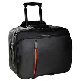 Eco Style Luxe Rolling Laptop Case Black/orange