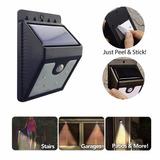 Luminaria Com Placa Solar De Led E Sensor De Presença