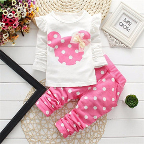Roupa Para Bebê De 1 Ano Menina Conjunto Da Minnie