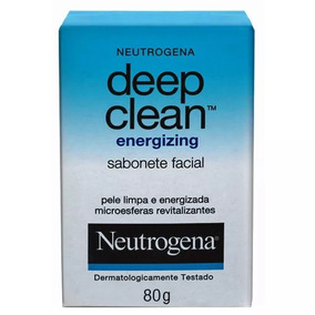 Deep Clean Energizing Neutrogena - Sabonete Facial - 80g