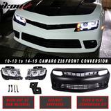 Frente Completo Para Camaro 10-13 Conversion 2014-2016 Ss Rs