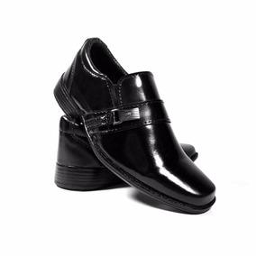 Sapato Social Infantil Tamanho Pequeno 25 A 36 Masculino 03