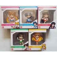Set 5 Figuras Sailor Moon Chibi Masters Mercury Mars Venus