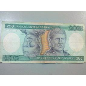 Cédula Duzentos Cruzeiros 200 Cruzeiros. Princesa Isabel