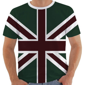 Camiseta Reino Unido Brasil Grã Bretanha Inglaterra Camisetas ... 2c162f3d621ba