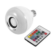 Lampara Luces Led Rgb Parlante Bluetooth Control Remoto