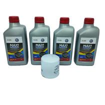 Kit Troca De Oleo Motor Vw Castrol 5w40 Fox 1.0 1.6 06/2012