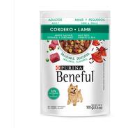 Alimento Beneful Adulto Cordero Arroz Guisantes 100 Gr.