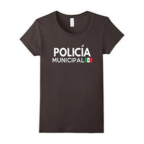 Mujer Policia Traje Camiseta - Policía Mexicana Disfraces D