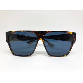 7718f98780316 Oculos Tigrado Marrom Escuro Com Dior - Óculos no Mercado Livre Brasil