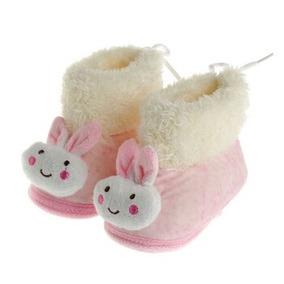 Pantuflas Conejo Botas Bebe Niña Invierno Frio Calientitas