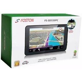Tablet Foston Fs-3d720pc C/ Gps 7