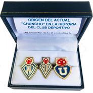 Caja Pins Históricos Chuncho Universidad De Chile