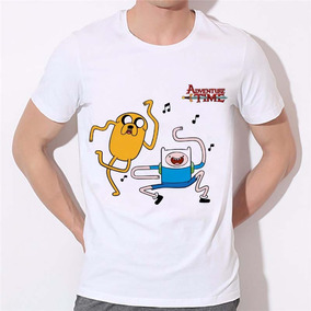 Remera Adventure Time Jake El Perro Divertido Camisetas Hom
