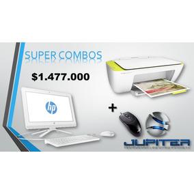 Combo Computador Todo En Uno Hp+impresora+mouse