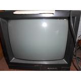 Televisor 14 Pulgadas Daenix Funcionando Con Control