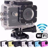 Câmera Filmadora Digital Capacete Sport Ful Hd Wifi Life Top