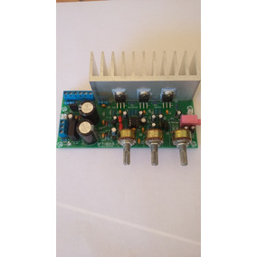 Placa Amplificador 2.1- 18w+18w+32w (tda2030+tda2050)
