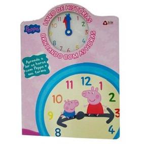 Peppa - Livro De Histórias Brincando Com As Horas / On Lin