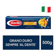 Fideos Italianos Pasta Barilla - Spaghettoni 500g