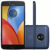 Celular Motorola E4 Plus Dual Chip 5,5 16gb 4g Azul Nac.