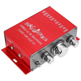 Amplificador 900w Estereo /auto / Moto / Casa / Dvd