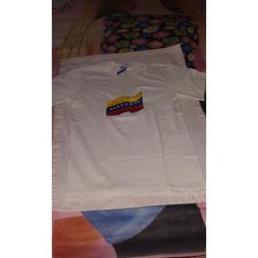 Franela Ovejita Bordada Con La Bandera De Venezuela Talla 12