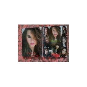 Caderno 1 Materia Com Adesivos Demi Lovato 33323344