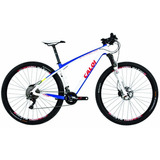 Bicicleta Caloi Elite Carbon Team 29 Tam. 17