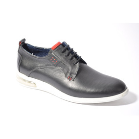 Zapato Zapatila Urbana Hombre De Cuero Braford 75 Moda