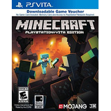 Minecraft Juego Vales - Playstation Vita