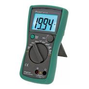 Tester Capacitancia Capacimetro Digital Proskit Capacitores