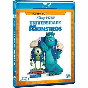 Blu-ray 3d - Universidade Monstros - Monsters University