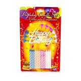 Set Velitas Cumpleaños X 12 Ref. 94361 Imp. Nana