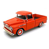 Motor Max 1:24 Display 1958 Chevrolet Apache Fleetside Picku