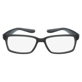 9b2726b8a1b1d Óculos De Grau Nike 7103 075 52 Cinza Fosco