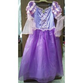 Vestidos Niñas Princesas Disney Rapunzel