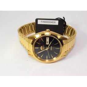 Reloj Orient Automatico Hombre Fab00004d9 Gold  watchito  