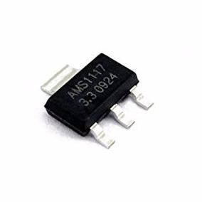 Regulador De Voltaje Ams1117 3.3v Original Smd