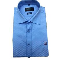 Camisa Social Ricardo Almeida Sports Azul Claro