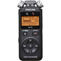 Gravador Digital Tascam Dr-05 - Gravador Palma De Mão