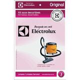 Kit Com 3 Refis Aspirador Electrolux 70035016 Descartável