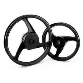 Roda Traseira Liga Leve Modelo 3 Palitos Biz 100 Ks Fabreck