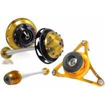 Kit Slider Procton Traseiro+roda Dianteira+estrela Cb1000r